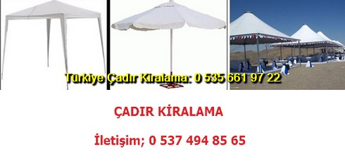 Fuar Çadırı Kiralama Fiyat